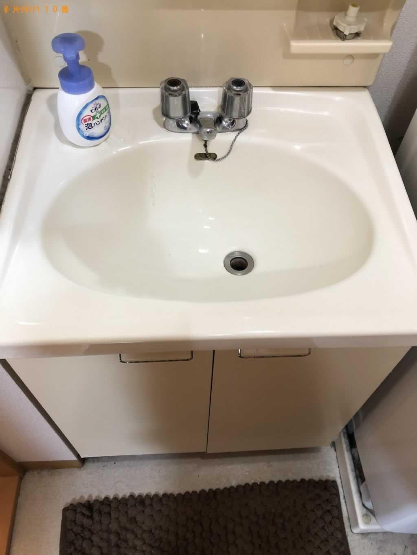 洗面台のお掃除サービス施工後