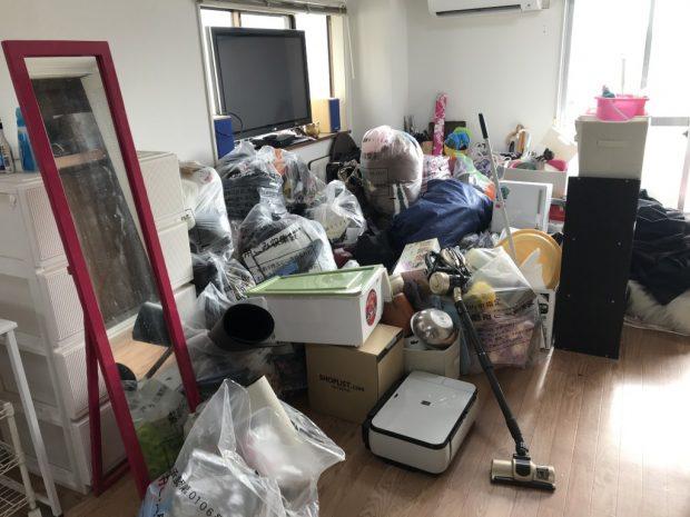 【和歌山市】お引っ越しに伴う2トントラック1台分の不用品回収☆ご希望の日程での対応や回収金額にご満足いただけました!