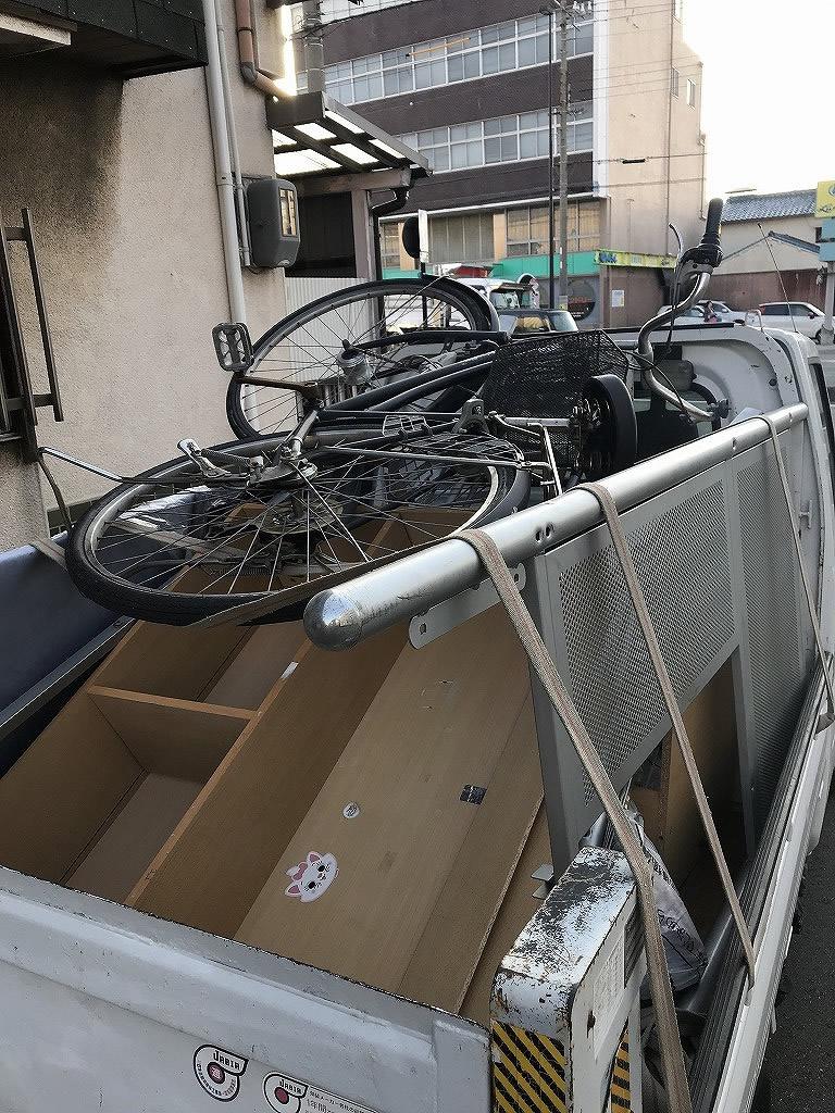 【和歌山県美浜町】自転車の回収☆電話後2時間以内のスピード回収で大変喜んで頂けました。