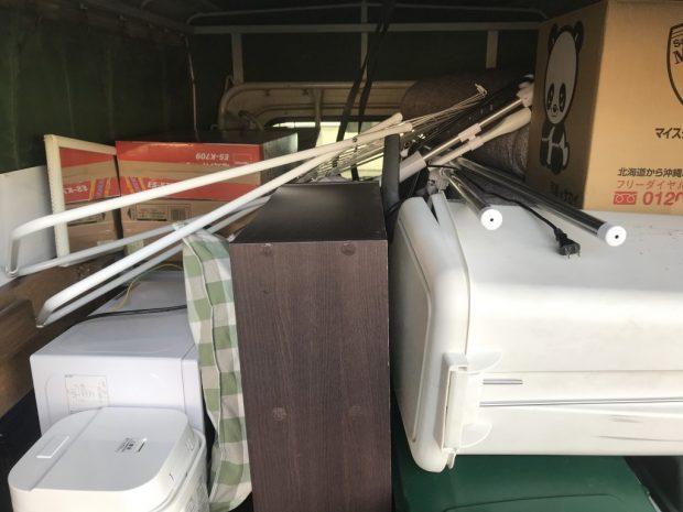 【和歌山市】洗濯機や棚などの回収☆直前の不用品の追加にも臨機応変に対応でき、お客様にご満足いただけました!