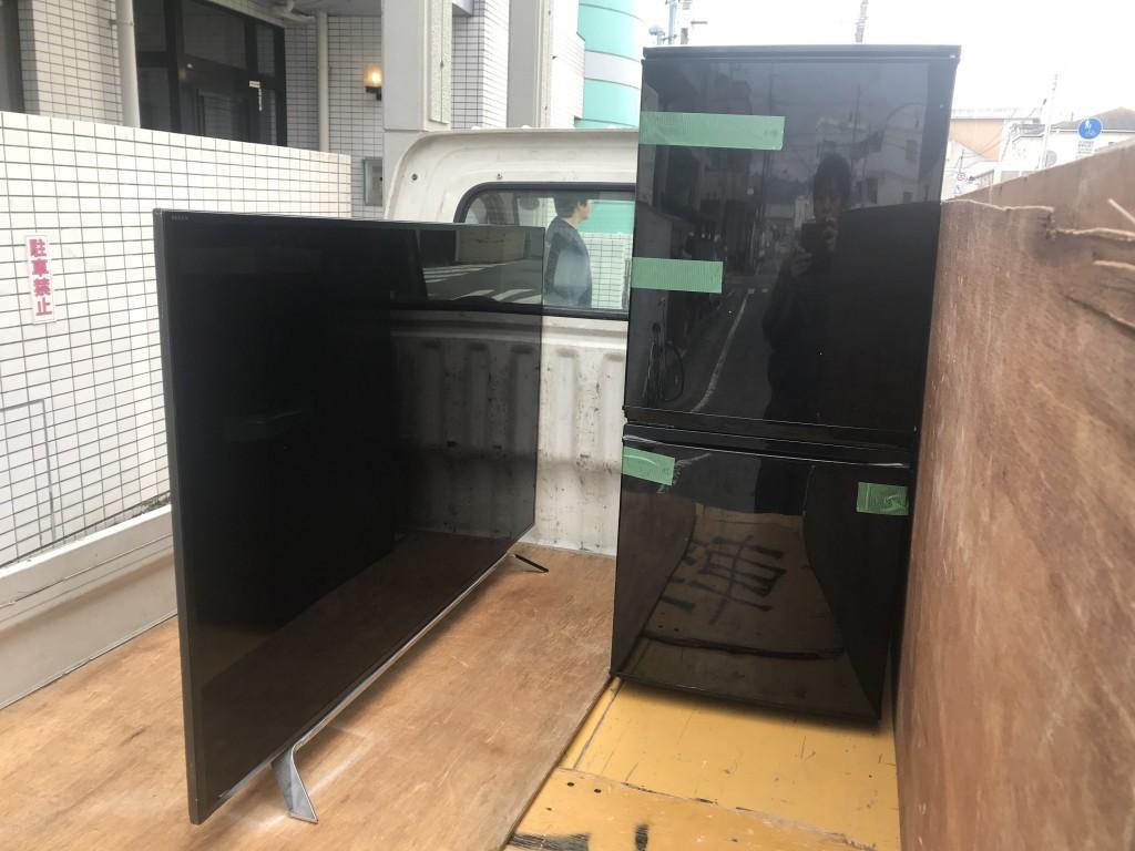 【和歌山市】液晶テレビと冷蔵庫の回収・処分ご依頼 お客様の声