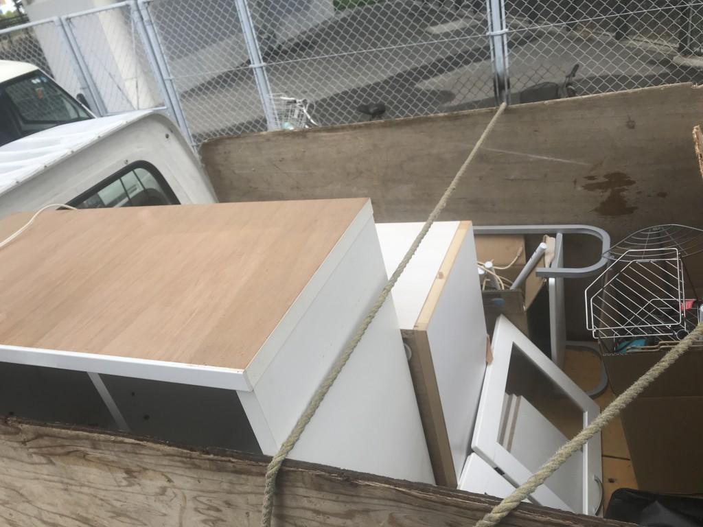 【和歌山市】食器棚など出張不用品回収・処分のご依頼 お客様の声