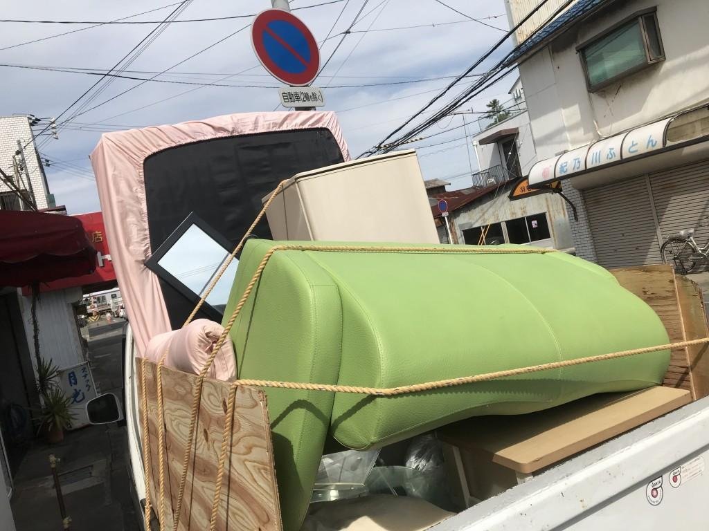 【和歌山市】冷蔵庫、ソファなどの不用品回収処分 お客様の声