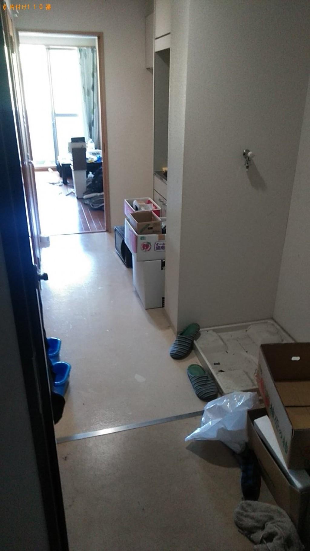 【和歌山市】冷蔵庫、洗濯機、折り畳みベッド、ロフトベッドの回収