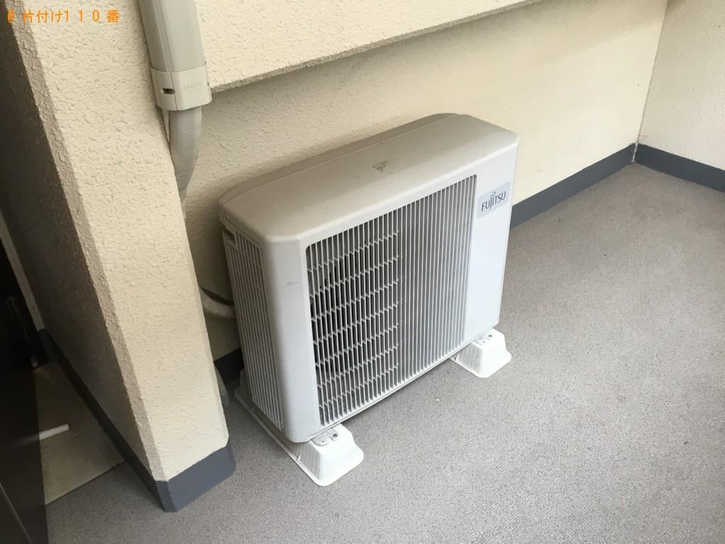 【和歌山市】エアコンの取り外しと回収・処分ご依頼