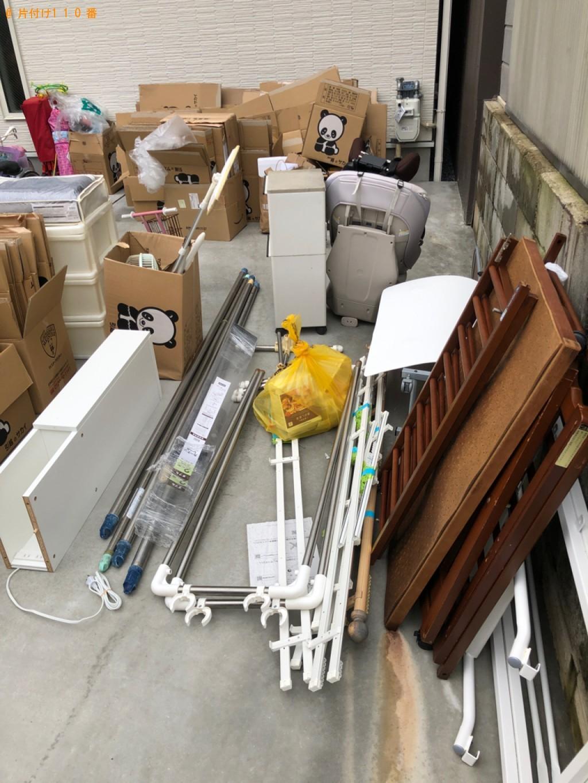【和歌山市】スタンドミラー、椅子、自転車、ベビーベッドの回収