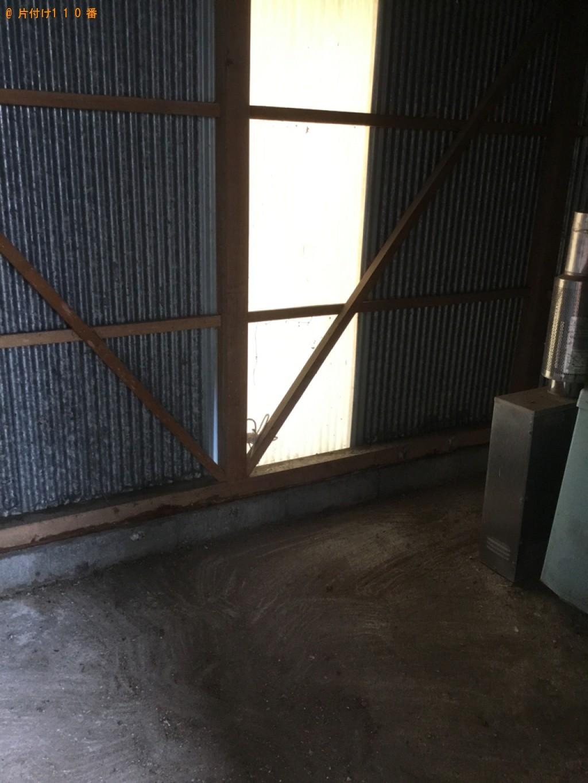 【海南市】冷蔵庫、テレビ、シングルベッドマットレス等の回収