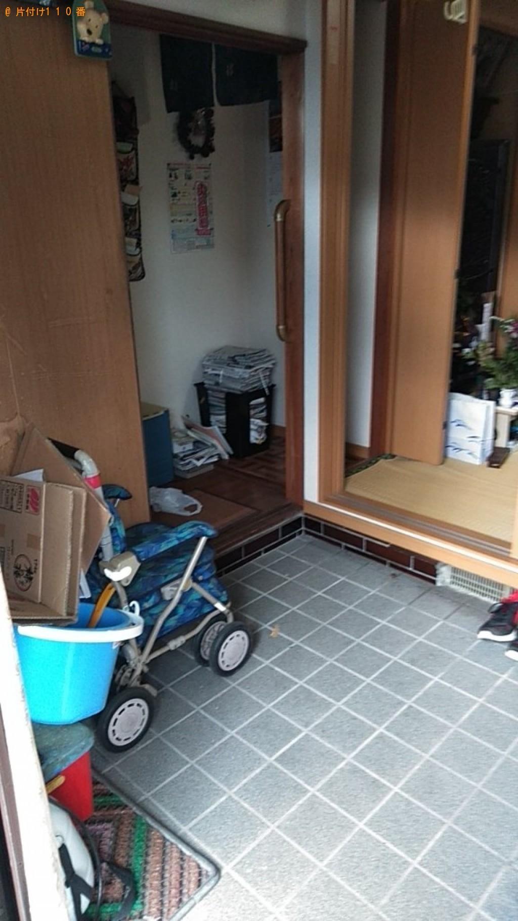 【岩出市】収納ケース、衣類、洗濯機、自転車、一般ごみ等の回収