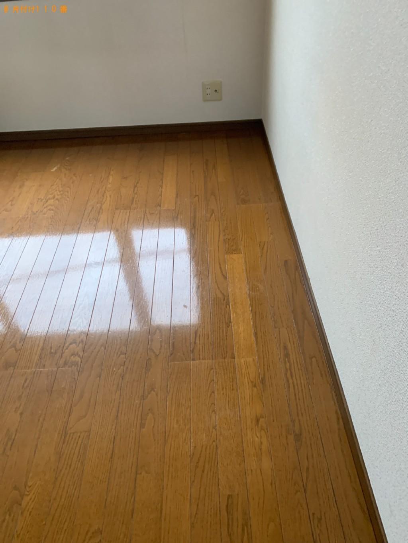 【和歌山市】マットレス付きシングルベッド、カラーボックス等の回収