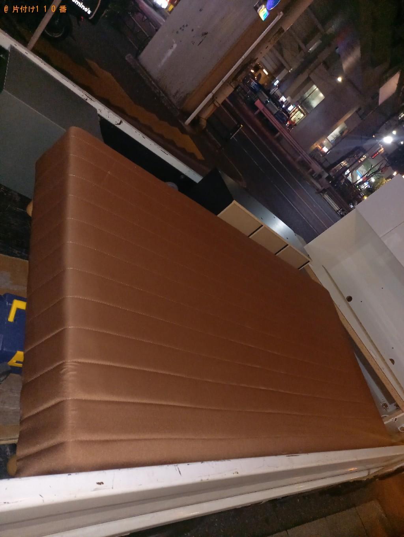 【和歌山市】マットレス付きシングルベッドの回収・処分ご依頼