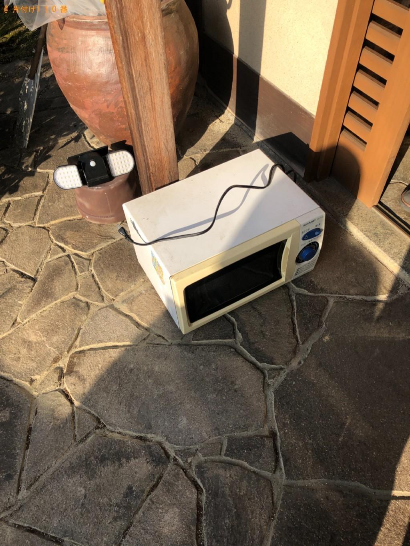 【和歌山市】電子レンジの回収・処分ご依頼 お客様の声