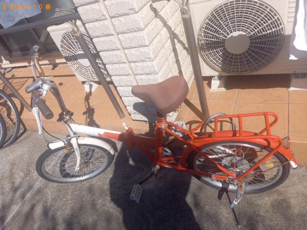 【和歌山市】二人掛けソファー、自転車の回収・処分ご依頼