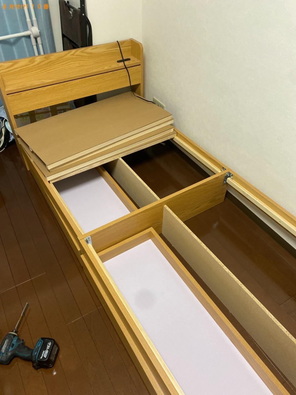 【和歌山市】シングルベッドの回収・処分ご依頼 お客様の声