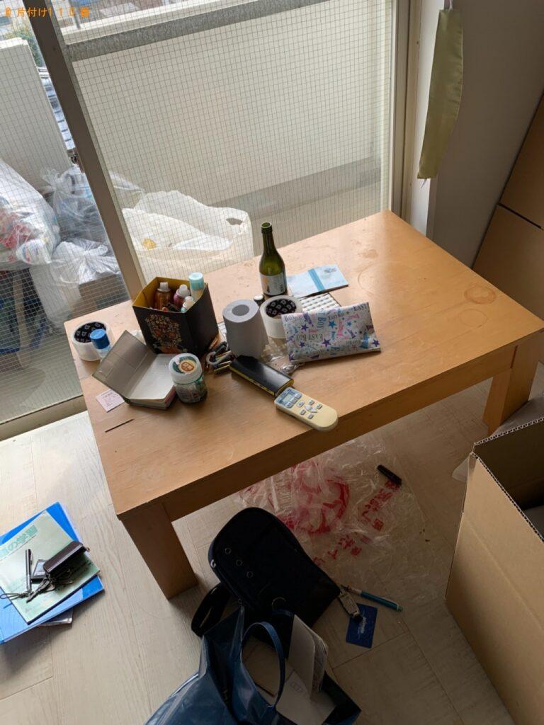 テーブル、スタンドミラー、座椅子等の回収・処分ご依頼