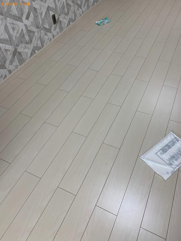 【和歌山市】マットレス付きセミダブルベッド、布団、食器等の回収