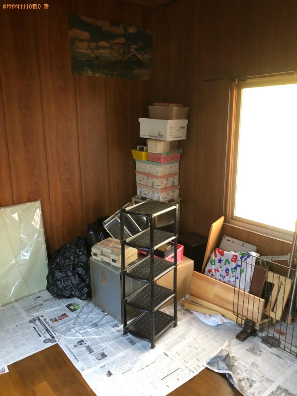 【和歌山市】スタンドミラー、クローゼット、食器棚、かご等の回収