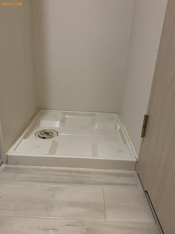 【和歌山市美園町】冷蔵庫、洗濯機、椅子、小型シュレッダー等の回収