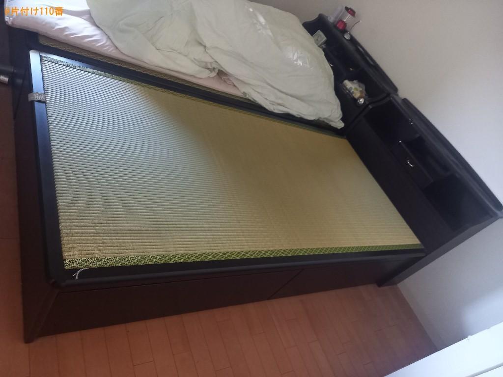 シングルベッド、畳の回収・処分ご依頼 お客様の声